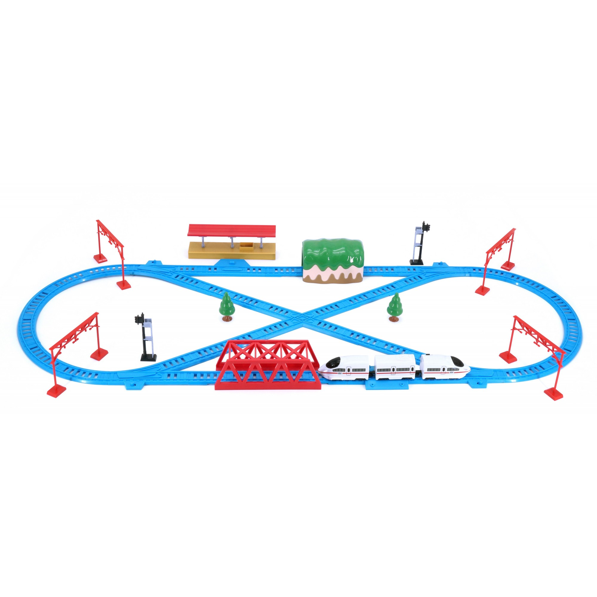 Hi Speed Express Rail Play Set (German)