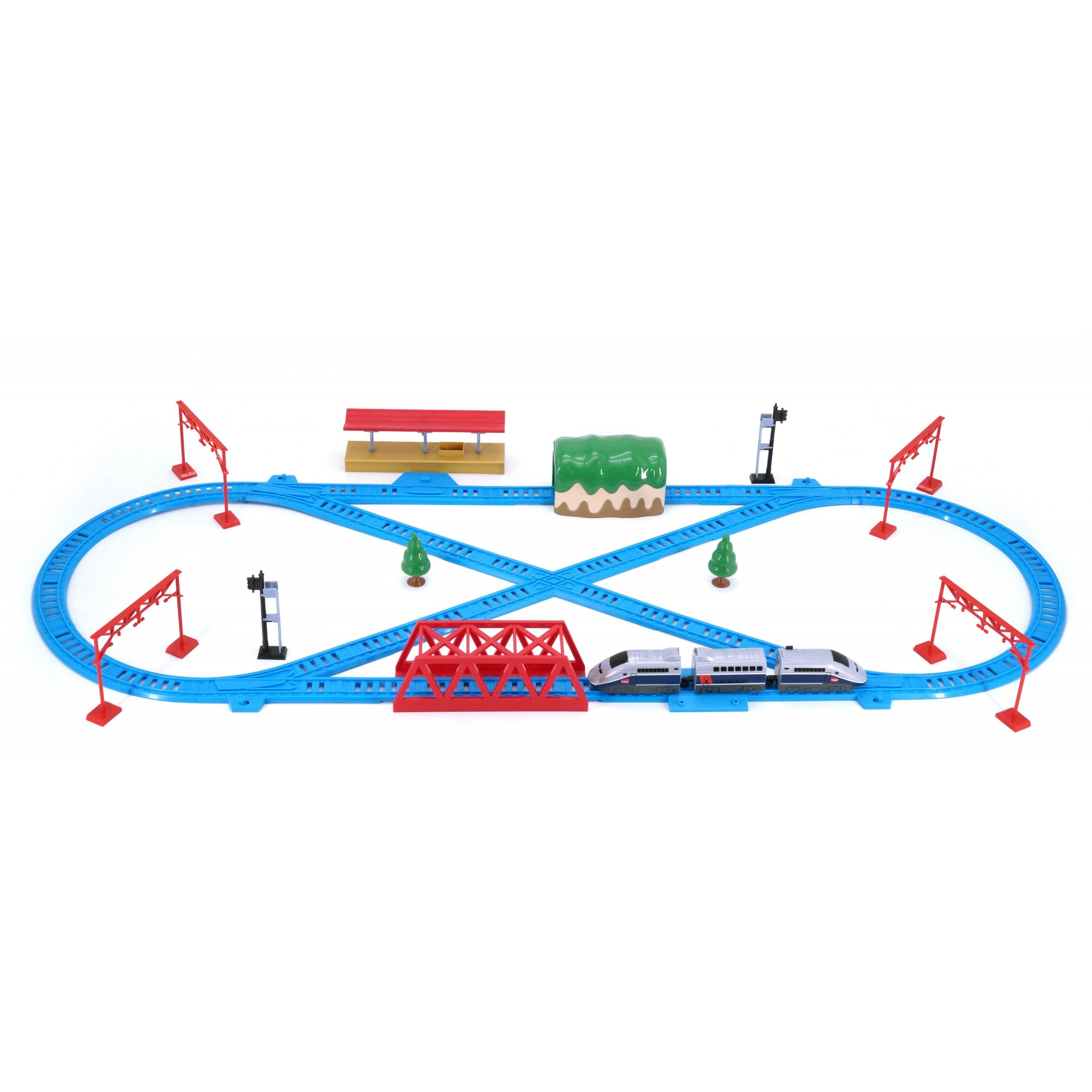 Hi Speed Express Rail Play Set (France TGV)