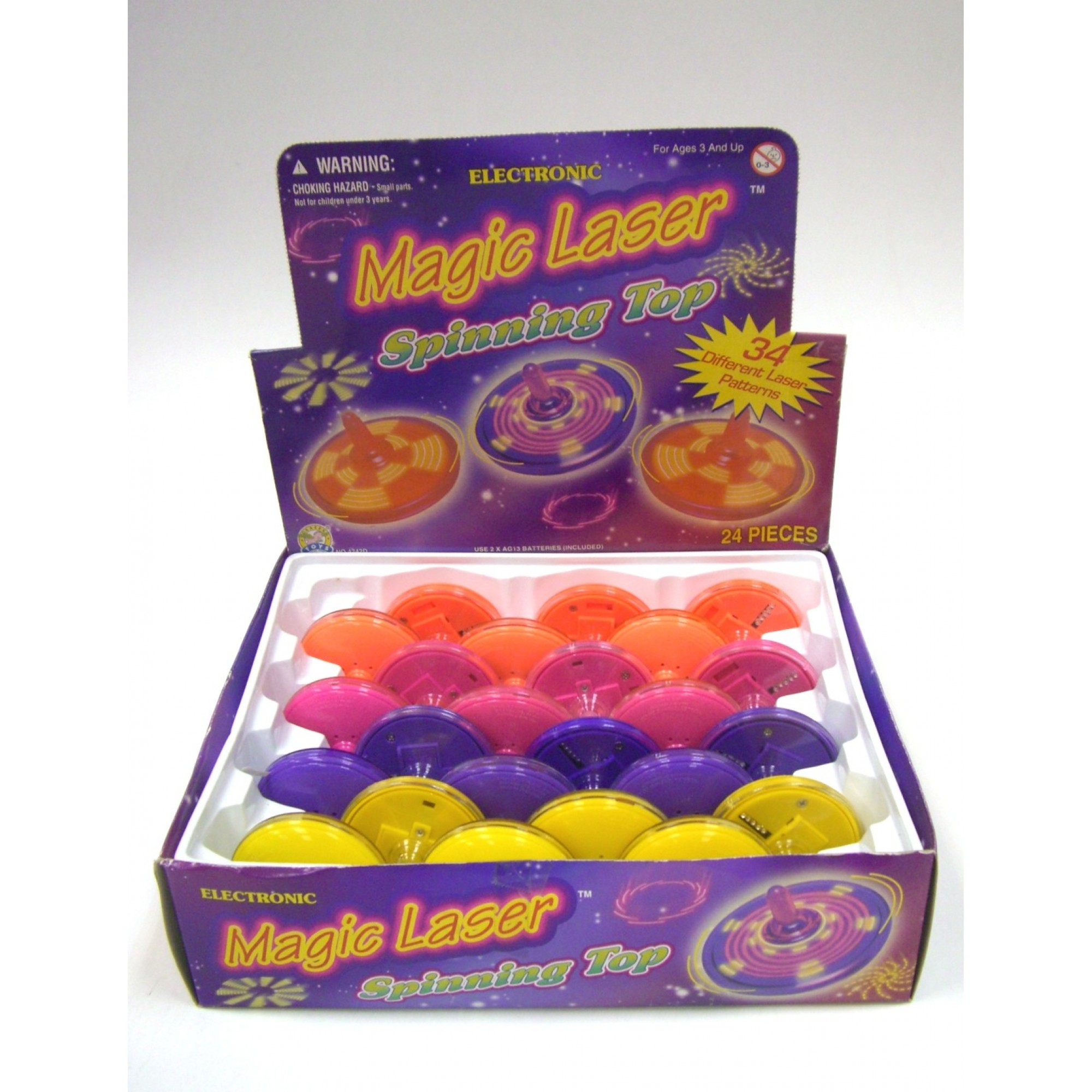 Magic Laser Spinner