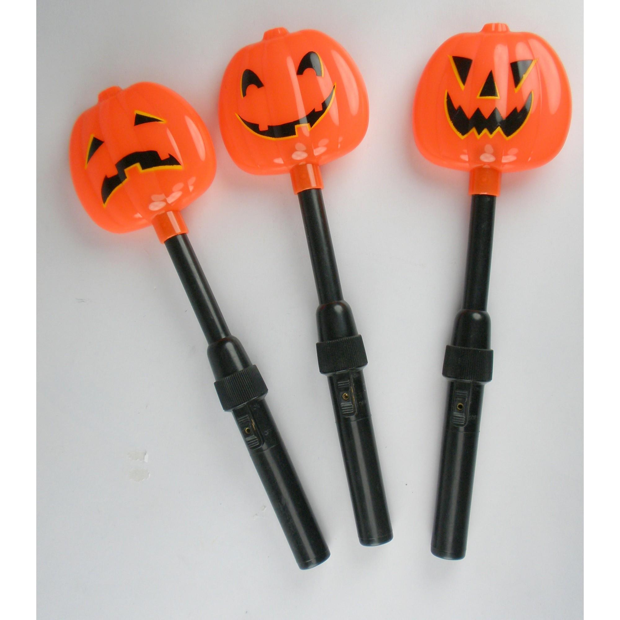 Halloween Lite-Up Pumpkin Torch