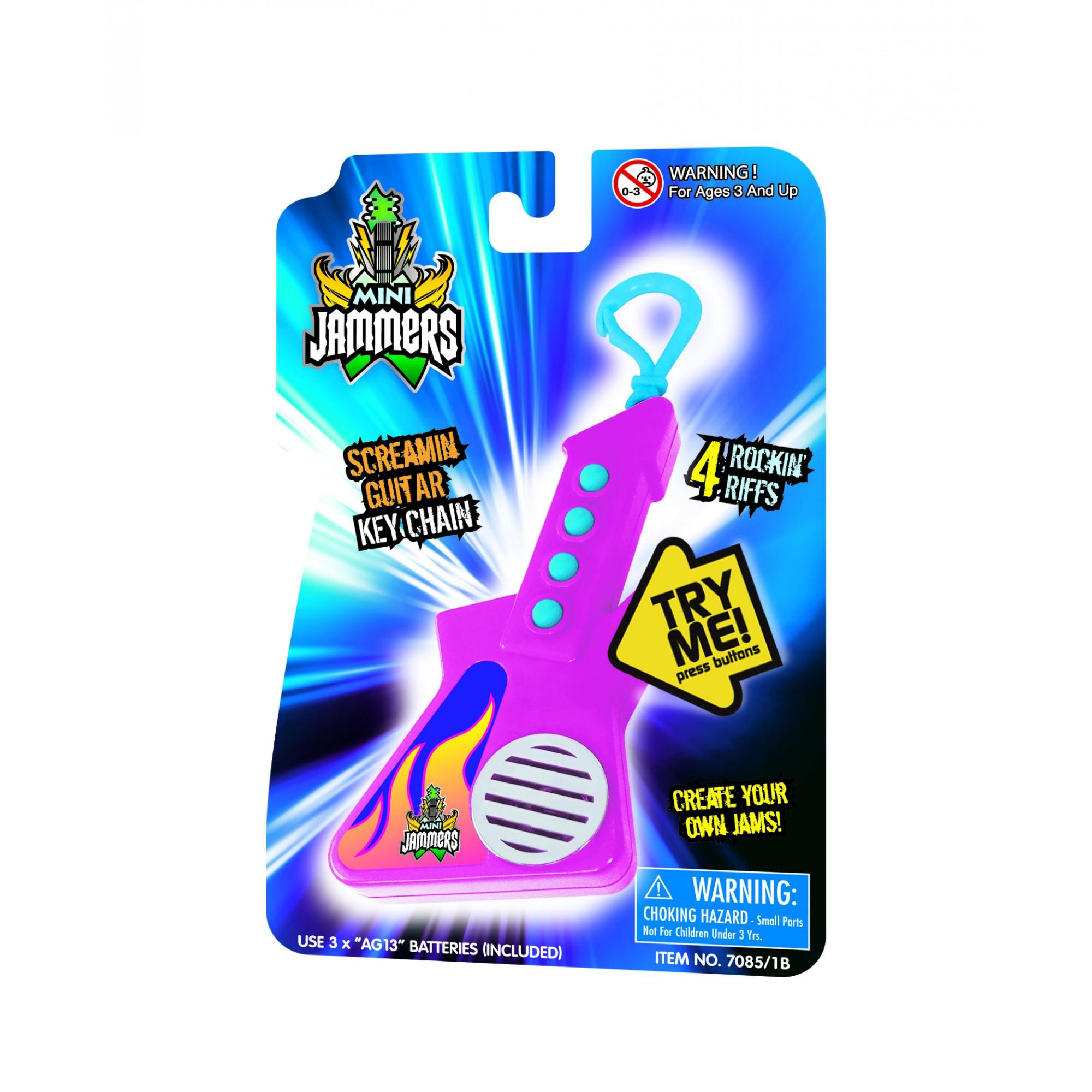Mini Jammers - Screamin Guitar Keychain