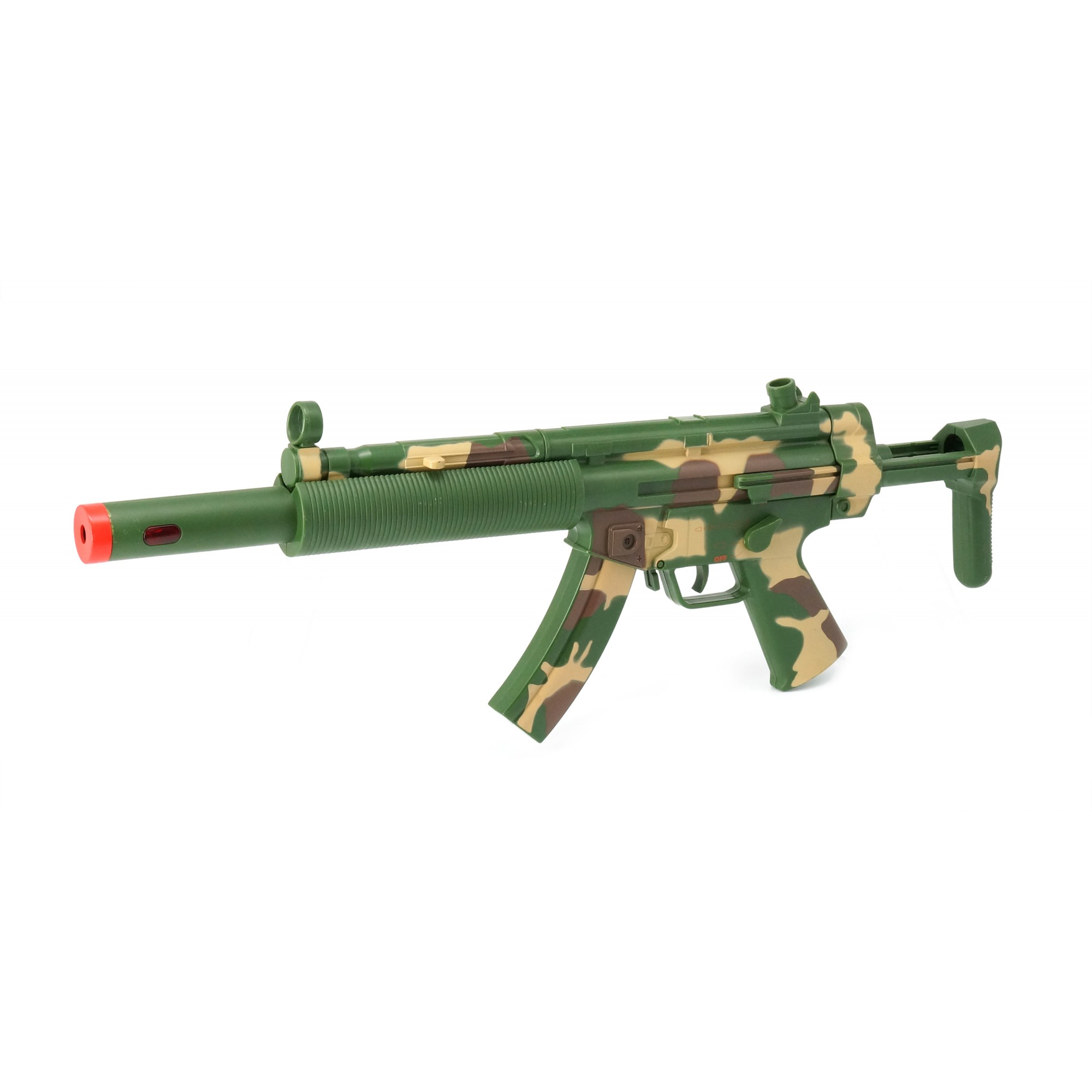 Combat MP5 SD6 W/Light, Sound & Vibration