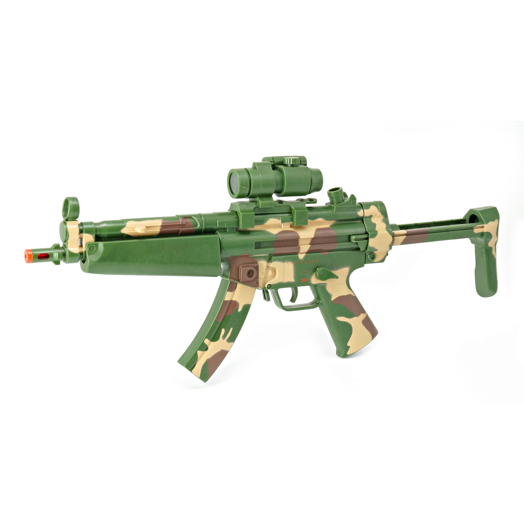 Combat MP5 A5 W/Light, Sound, Vibration & Viewer