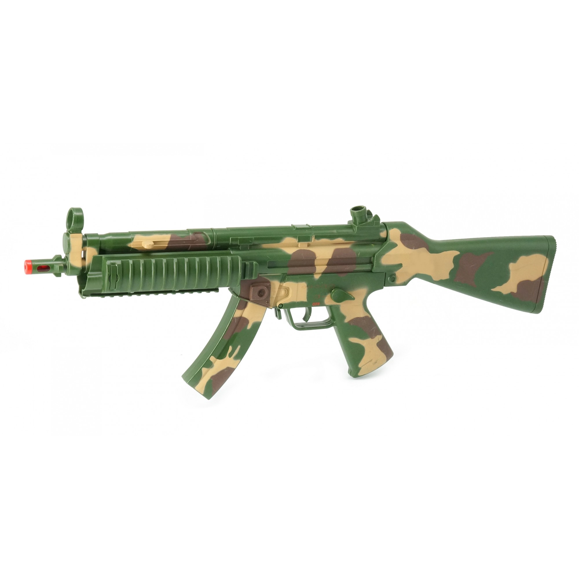 Combat MP5 Fox W/Light, Sound & Vibration