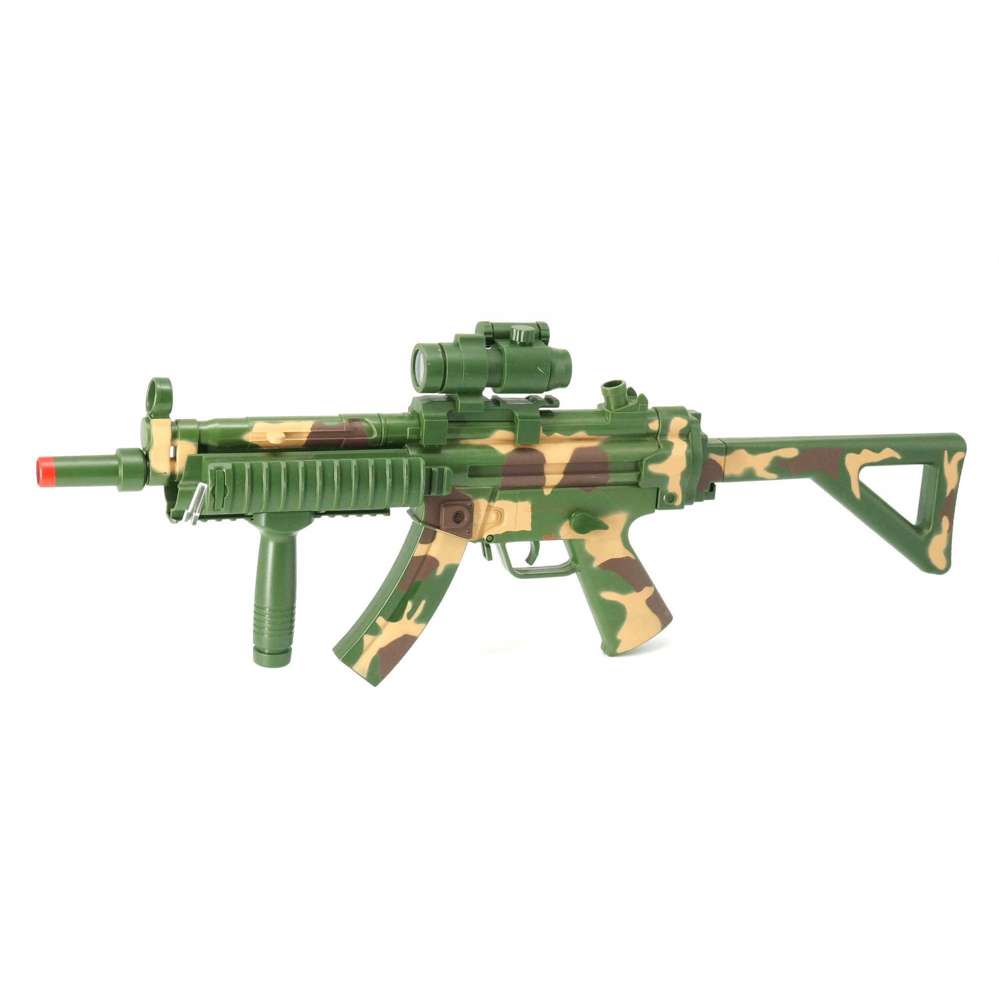 Combat MP5 RAS W/Light, Sound, Vibration & Viewer