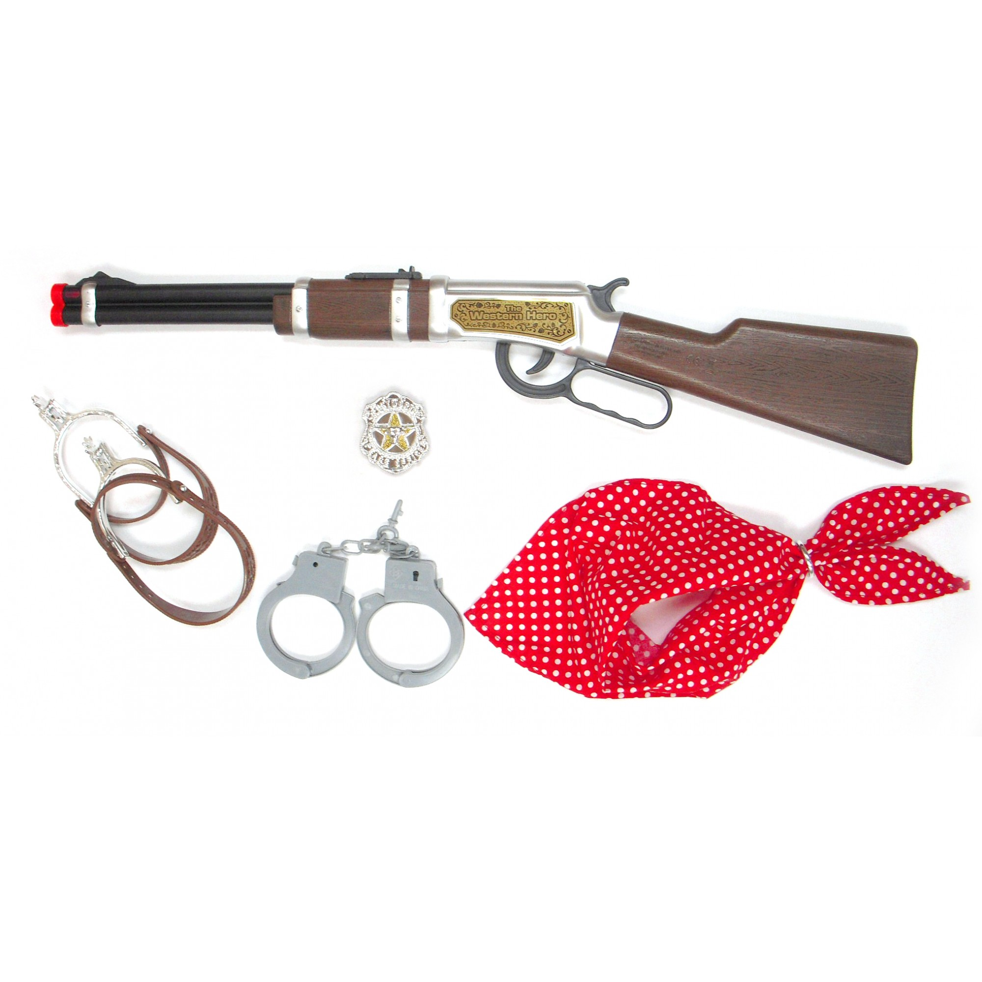 Cow Boy Rifle w/Handcuff Set