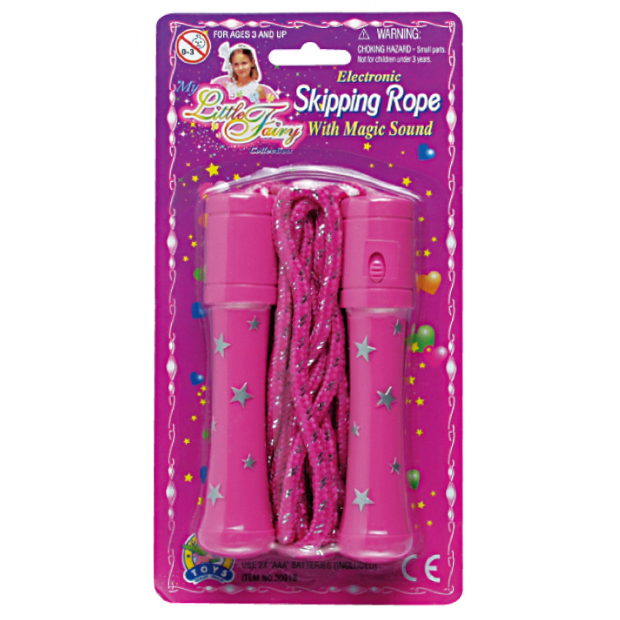 Electronic Skipping Rope W/Magic Sound