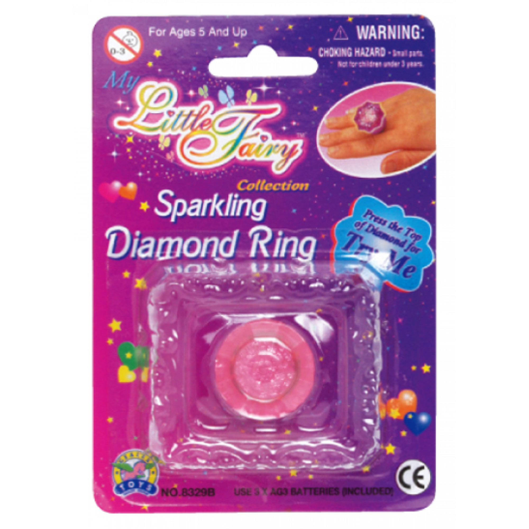 Sparking Diamond Ring