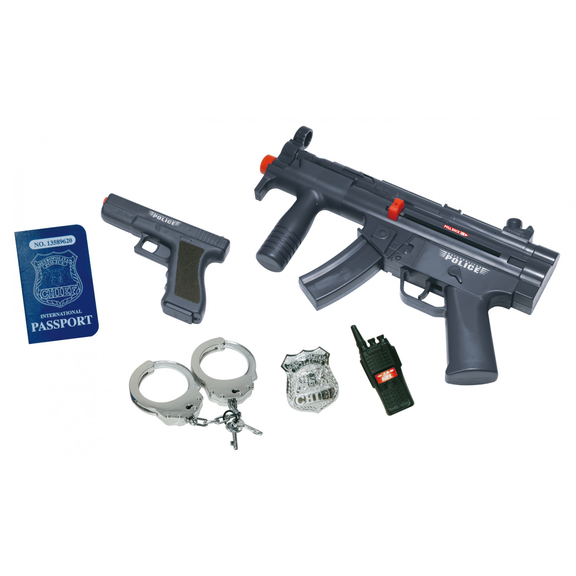 Police Play Set (MP5K + Glock 17)