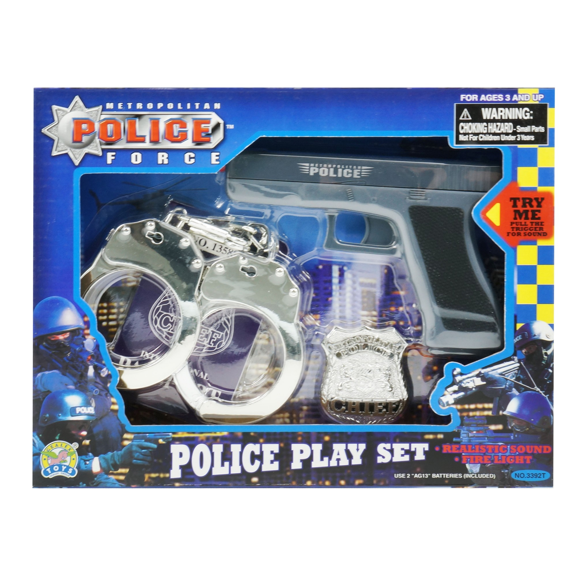 Electronic Police Play Set (Glock 17)