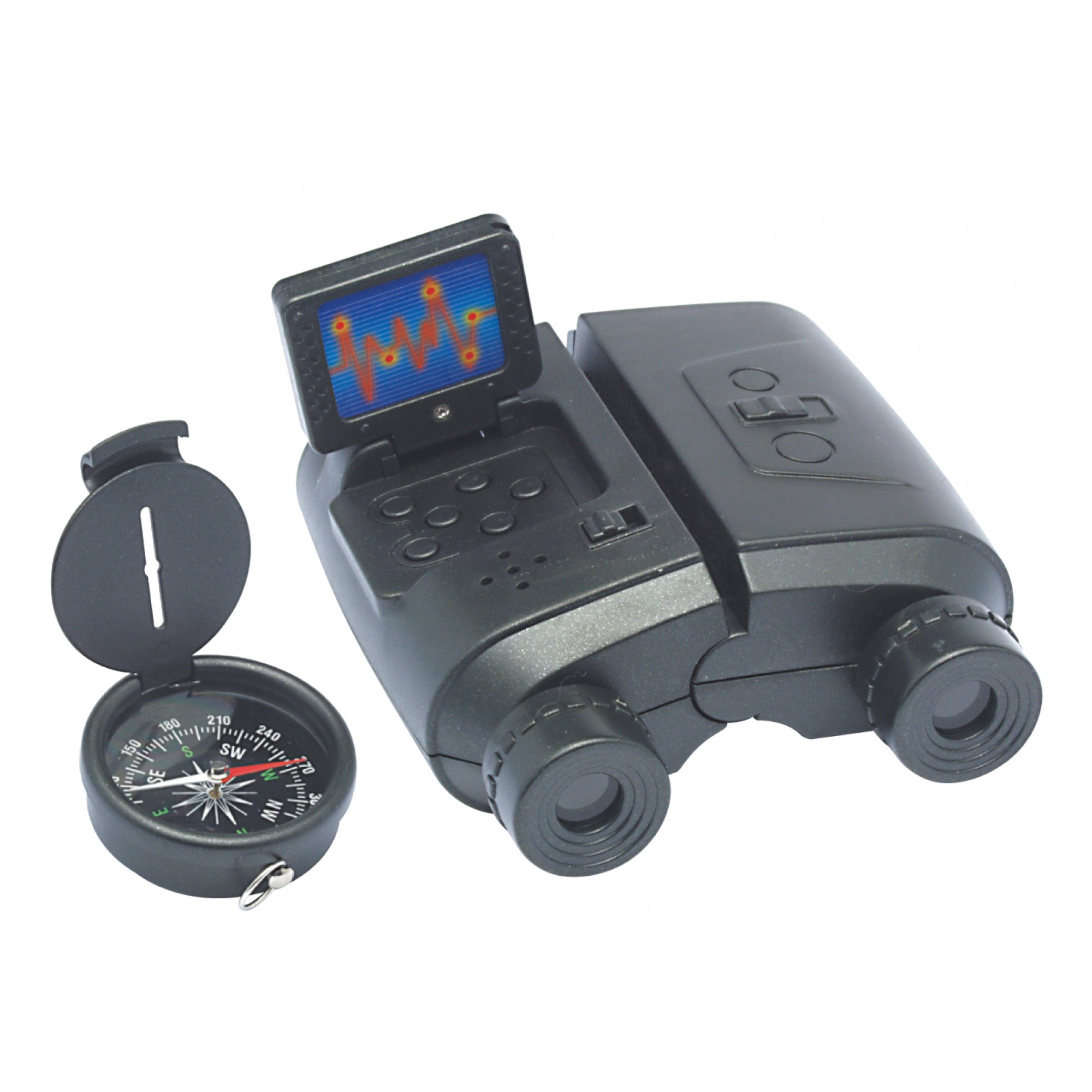 Binocular & Compass