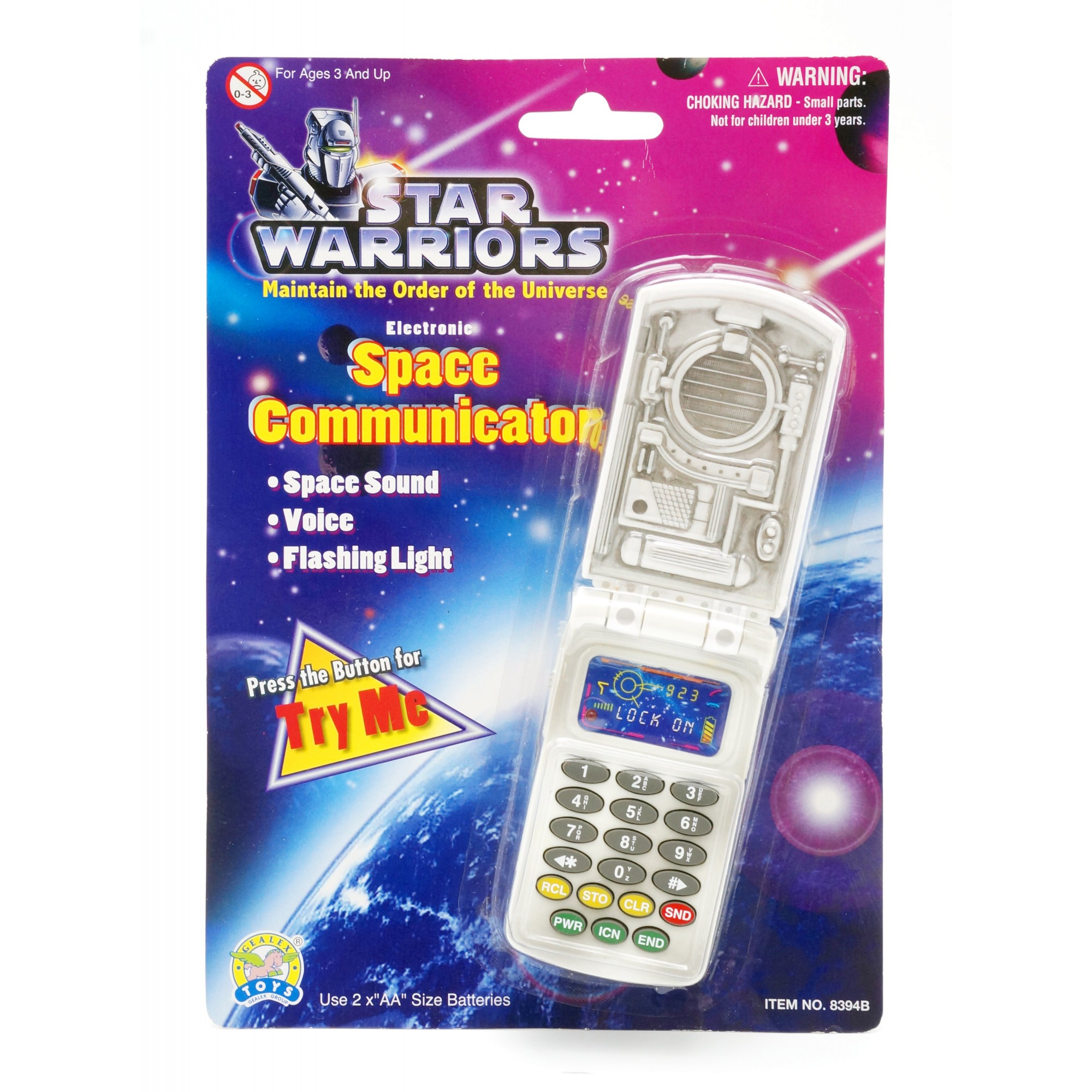 Star Warriors Electronic Space Communicator