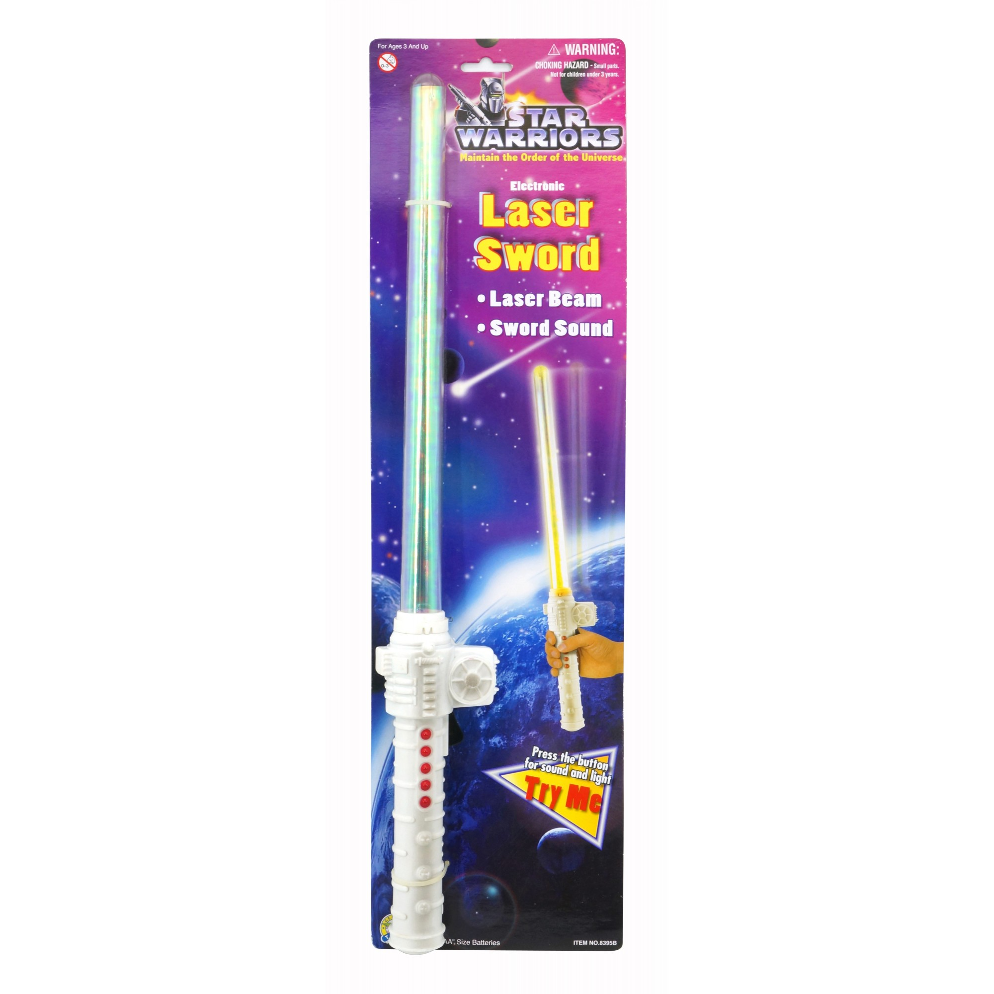 Star Warriors Electronic Laser Sword